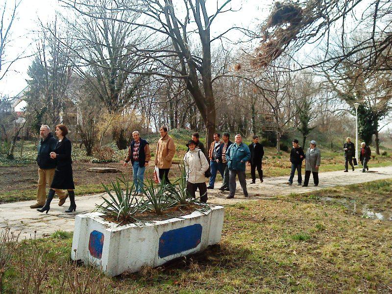 În Grădina Bitanică din Craiova